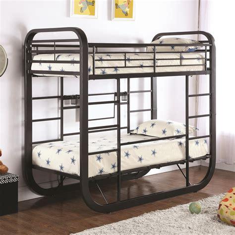 coaster furniture bunk bed coaster archer workstation bunk bed value city