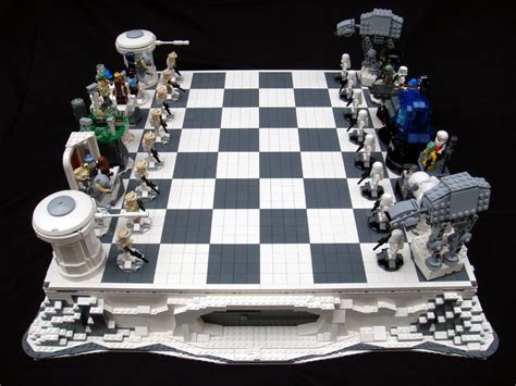 Bor Set creating your custom own lego chess set community lego blogs brickpicker