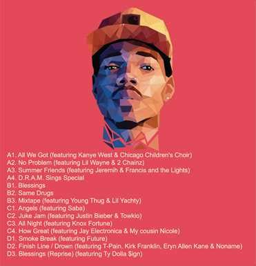coloring book chance the rapper album global groove dj vinyl records house vinyl