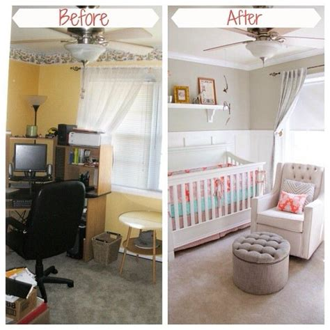room transformation before and after room transformations