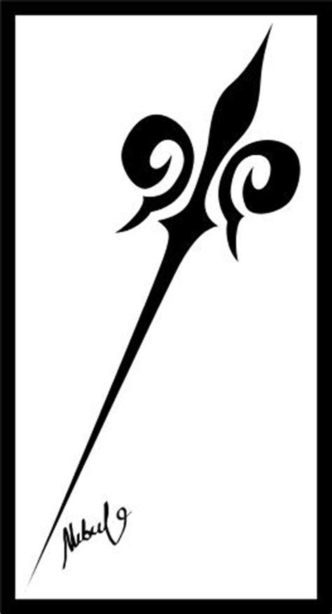 tribal spear tattoo tribal spear by makbulo on deviantart