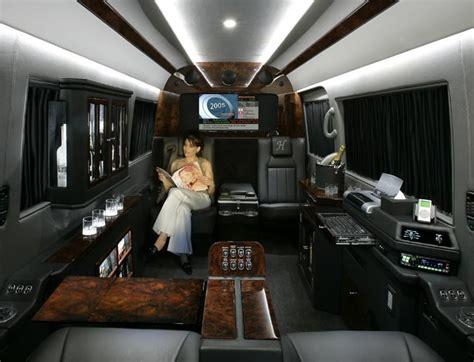 luxury minivan interior sprinter van interiors becker automotive design s