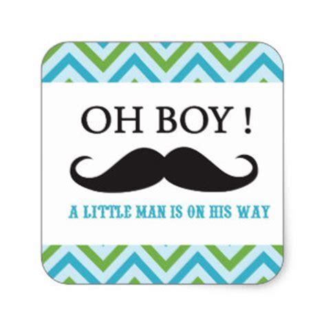 mustache boy baby shower mustache baby shower stickers zazzle