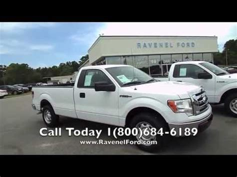 ravenel ford 2012 ford f 150 xl regular cab for sale at ravenel ford
