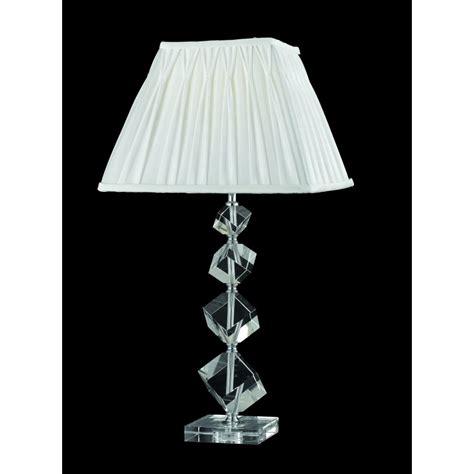 white table l shade tl911184 table l chrome white shade