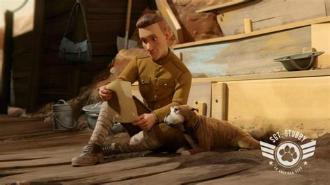Sgt Stubby Story News Carrie Fisher Completed Wars Episode Viii Logan Photo