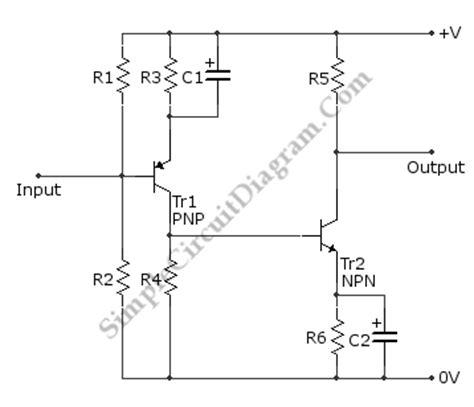 transistor lifier ac simple ac to dc circuit simple free engine image for user manual