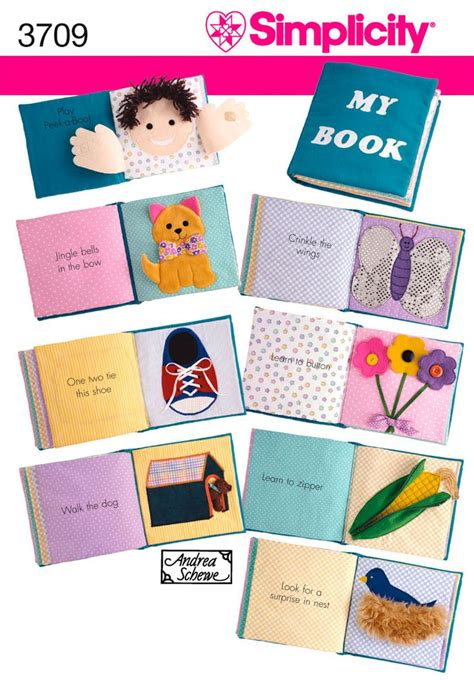 mccalls quiet book pattern babys first book sewing dreams for little ones