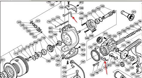 Reel Go Strile Dashing 1000 new shimano sustain fg conversion to manual bail reel maintenance and repair surftalk