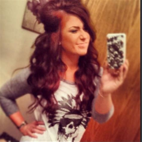how chelsea houska dyed her hair so red chelsea houska selfie hair shirt 2014 hair ideas pinterest