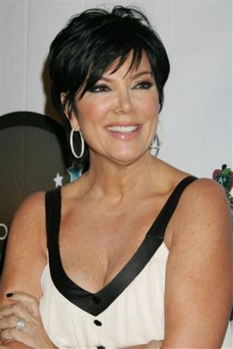 Kris jenner, Kris jenner haircut and Kardashian hairstyles