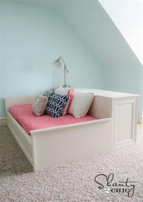 Platform Dresser Bed diy platform dresser bed shanty 2 chic