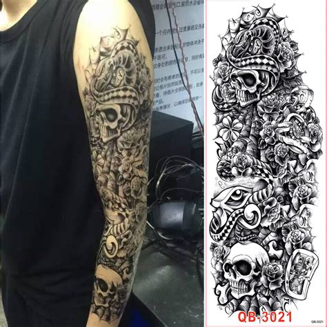 full body rose tattoo popular sleeves buy cheap sleeves