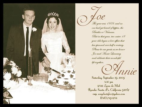 60th wedding anniversary card templates free 60th anniversary invitation free templates search