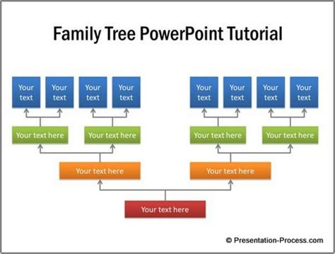 Family Tree Powerpoint Tutorial Family Tree Chart Template Powerpoint
