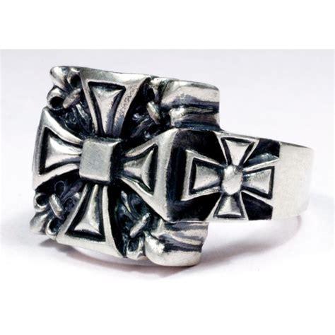 sterling silver s biker ring germanrings
