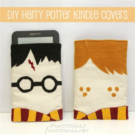 Harry Potter Decorations Diy diy harry potter kindle covers