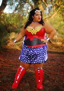 plus size wonder woman we exist diy cosplay bbwgeneration