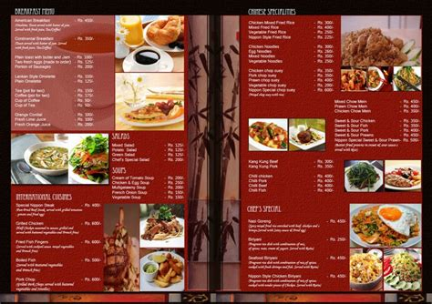 indian restaurant menu templates free download free guide cafe menu