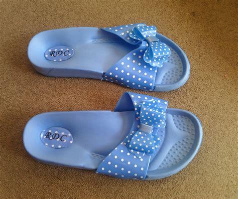 Sepatu Sandal Cantik Pita Replikapumagflakoduputih sandal flatform pita polkadot wedges cantik murah
