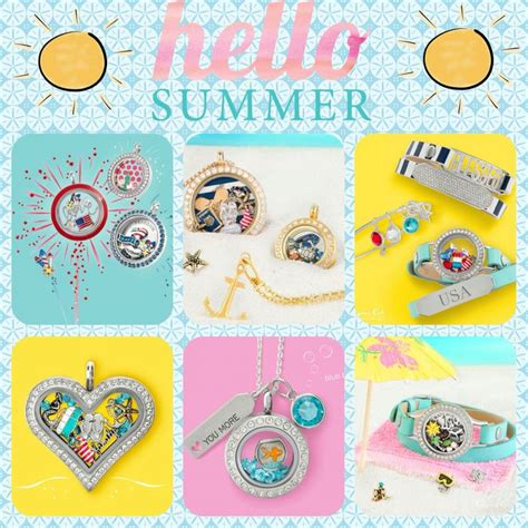 Origami Owl Summer - origami owl s summer 2016 collection www jenneal