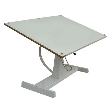 Drafting Table Ebay 50 Quot Vintage Drafting Adjustable Architectural Table Ebay
