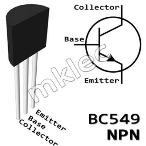 bc547 npn transistor datasheet pdf bc549c npn to 92 general purpose transistor
