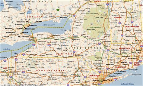 us new york map map of new york new york maps mapsof net