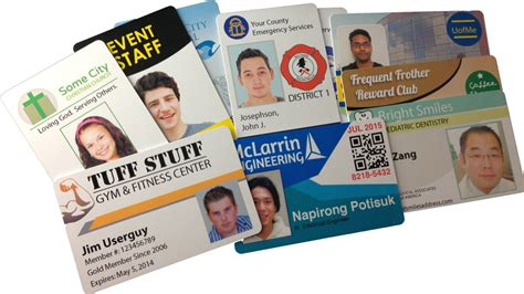 Pvc Id Card Template by Inkjet Pvc Id Cards