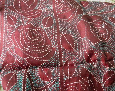Selimut Stitch 2 1285 gambar terbaik tentang sashiko embroidery di indigo selimut kapas dan sulaman