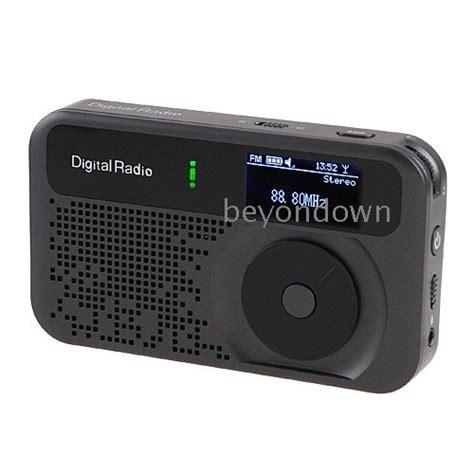pocket mini dab fm radio mp3 recorder alarm clock wholesale high quality pocket mini dab fm