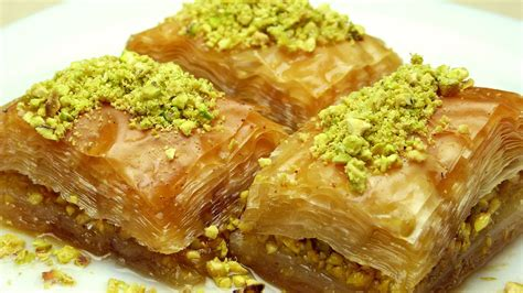 ottoman recipes how to make baklava easy turkish recipes youtube