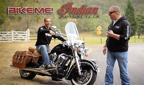 Indian Chief Vintage Motorcycle Review   BIKE ME!   YouTube