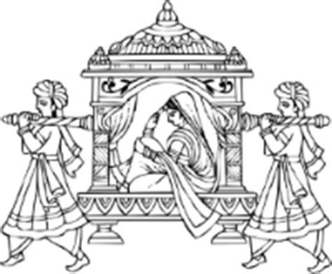 indian wedding invitation symbols ceremony symbol templates madhurash cards