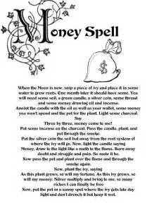 daemonic prosperity magick books best 25 money spells ideas on