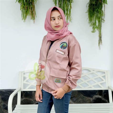 Jjw12 Jaket Wanita Model Terbaru Keren Di Bandung jual jaket patch stiker lucu hits instagram kekinian model terbaru termurah perempuan