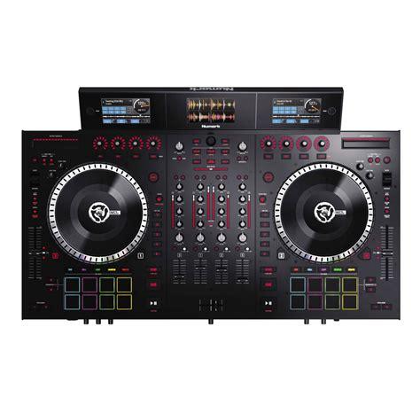 best serato controller numark ns7iii 4 deck serato dj controller with 3 screen