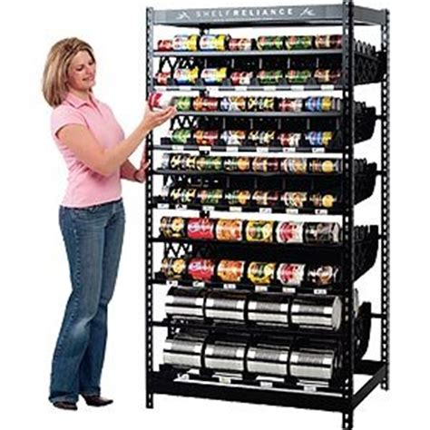 Rotating Pantry Shelves by Shelf Reliance Harvest 72 Quot 10 Food Rotation System