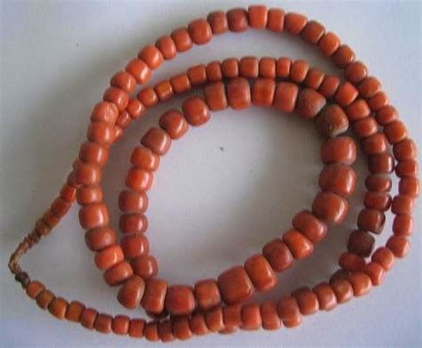 Kalung Choker Horor Tetesan Darah 1 toko antiek retro vintage antique european necklace blood coral unik kalung kuno eropean batu