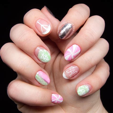 The Nail by It S A Marshmallow World In The Winter Chalkboard Nails
