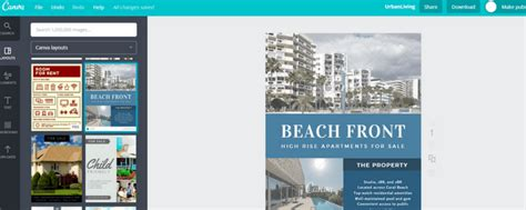 canva guide how to create real estate flyers with canva boomtown