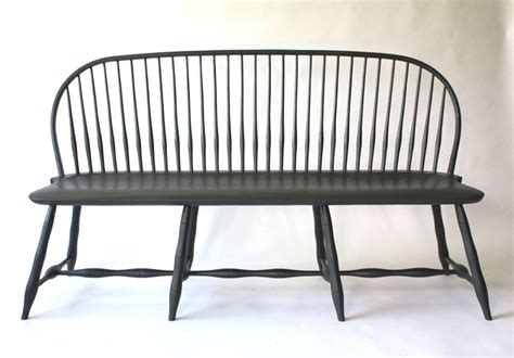 unique benches and settees bow back settee with bamboo turnings 65 quot sch4a chris harter