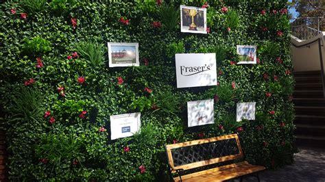 garden themed events garden wall pav events