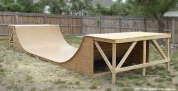 Backyard Bmx Ramps Build Your Own Skate Ramp