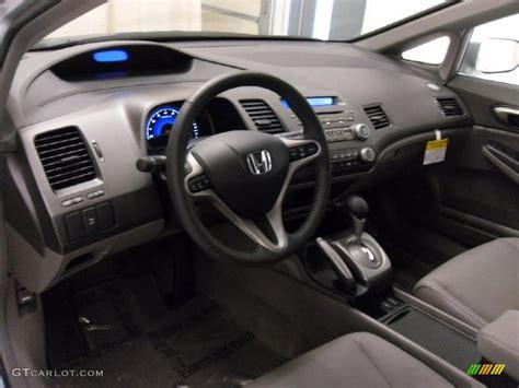 gray interior 2011 honda civic ex l sedan photo 38309455
