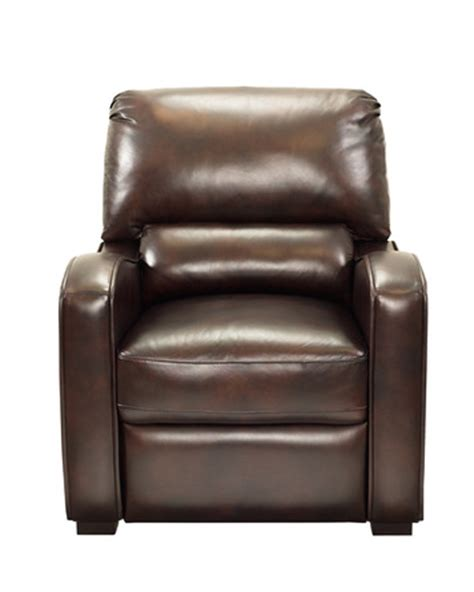 Harrison Leather Recliner by Harrison Push Back Recliner In Brown Leather Vinyl By Barcalounger Home Gallery Stores