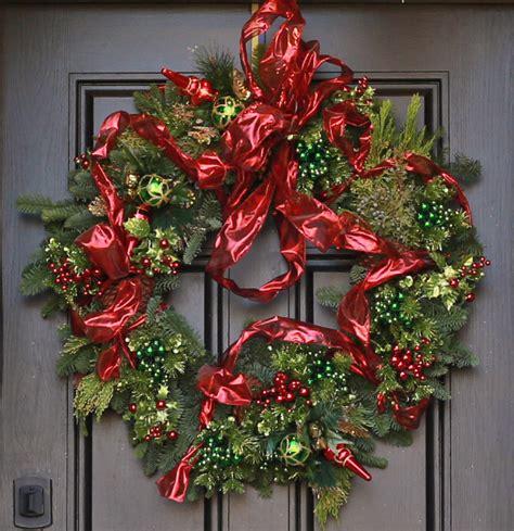 luxury wreaths wreaths traditional luxury wreath columbus