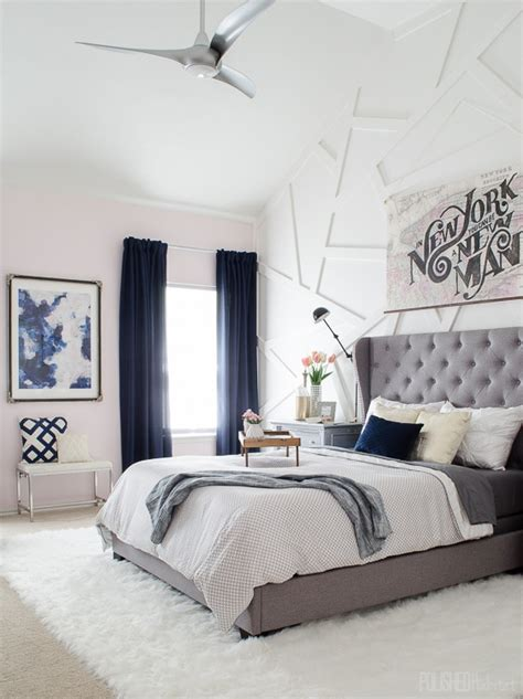 glam bedroom modern industrial glam home style before after photos