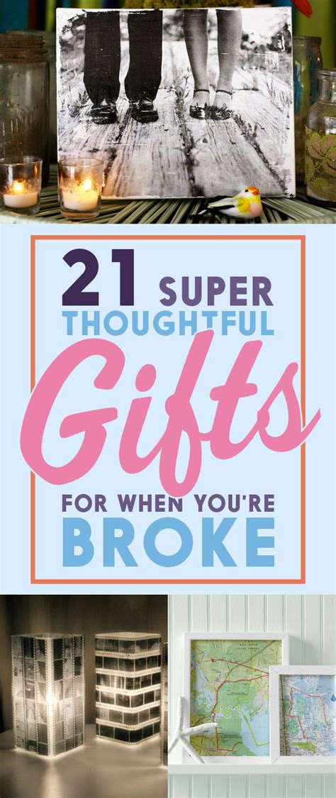 21 super thoughtful gift ideas for when you re broke af