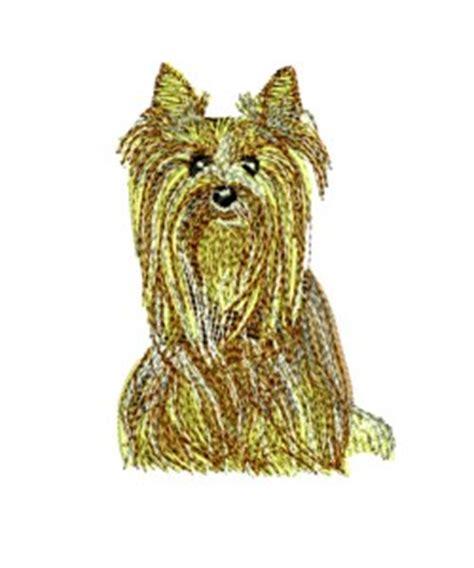 embroidery design yorkshire terrier dog puppy designs